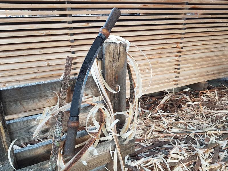 Tuppeensahattua kuusilauta Puusepänliike Tuulipuussa
